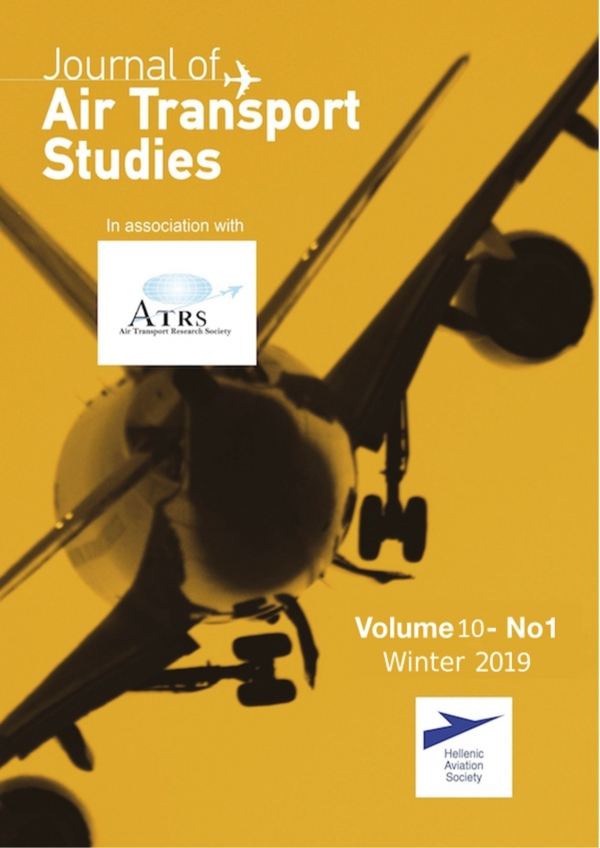 JATS Volume 10 - No 1 Winter 2019 Cover